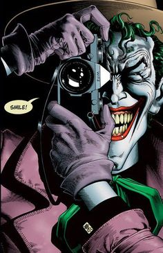 The Killing Joke- probably my favorite cover of all time.