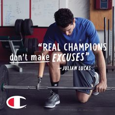 Real Champion Julian Lucas won't let anything define him as an athlete. Watch his story on Champion.com