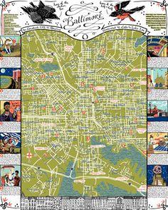 Baltimore map