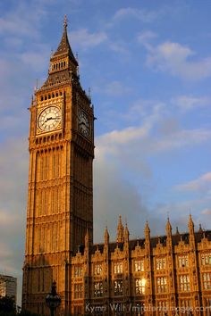 Great Britain Landmarks | United Kingdom, Great Britain; England; London. Famous Big Ben ...