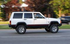 Mine was a 1990 Jeep Cherokee. Loved this ride. Man, why did I sell it. (Wait, have I said that before).