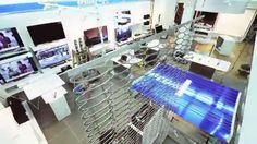 Samsung Shop-in-Shop, Mediamarkt Dietlikon In nur 6 Wochen setzten wir den brandneuen Corporate Store für Samsung um. Von der Planung bis zur Installation. Alles aus einer Hand.