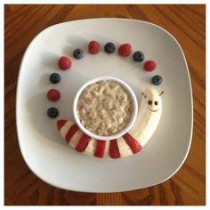 Worm breakfast