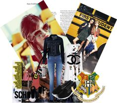 """""""SCHOLLLLLLLLLL"""" by lais-horan ❤ liked on Polyvore"""