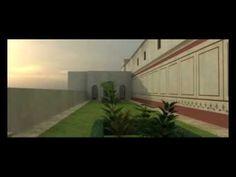 Recreación Infográfica de la Casa de la Exedra en Itálica (Santiponce). 3D Recreation of roman house. Domus romana