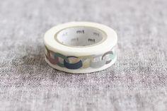This one too!  mt x mina perhonen washi masking tape {Ring} Smoky colours