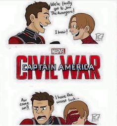 haha Scott and Peter join the Avengers at the worst possible time XD