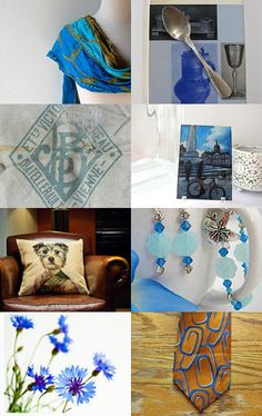 'Cool And Blue - Around The World' by AKandKO --Pinned with TreasuryPin.com