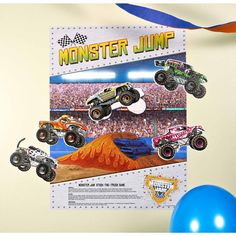 """Monster Jam 3D """"Stick the X"""" Game 