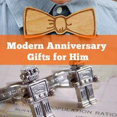 Modern Anniversary Gifts for Him