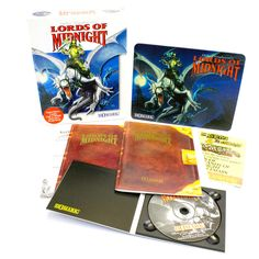 Mike Singleton s Lords of Midnight Limited Edition for IBM PC CD-ROM - Big Box
