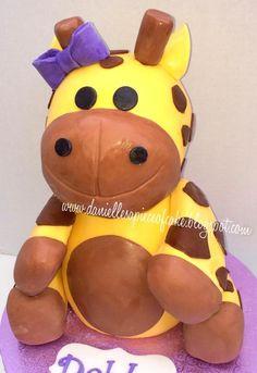3D Cute Giraffe