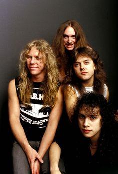James, Cliff, Lars & Kirk - METALLICA