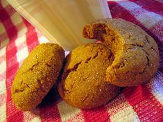 Ginger crinkles molasses cookies