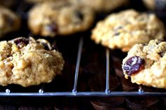 thick, chewy oatmeal raisin and chocolate chip   cookies
