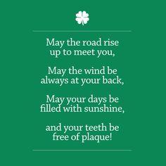 The Irish Dentist's Prayer
