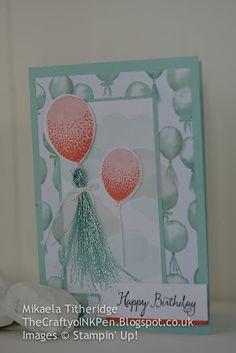 Balloon Celebration meets Birthday Bouquet Designer Series Paper