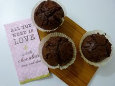 Muffins double chocolat…