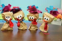 Thanksgiving Paper Bag Turkeys