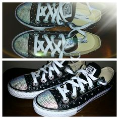 BEAUTIFUL chuck taylor rhinestone converse kids and women s blinged shoes -  pinned by pin4etsy.com 3e1cedb5d