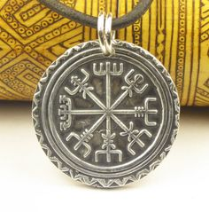 Norse Viking Nautical Compass  Vegvisir by EspritMystique on Etsy, $145.00