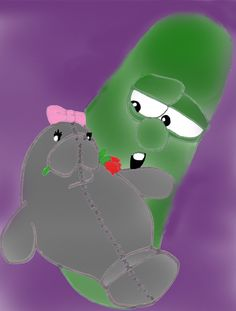 Larry and Barbara Manatee by w by VeggieTales.deviantart.com on @deviantART