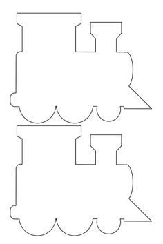 Train Template | Free Printable Train Templates This Is Just One Diecut Example