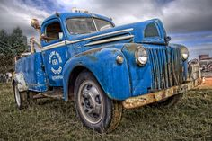 Vintage Ford Tow Truck... Formerly used by RACV organisation in Victoria to tow broken down vehicles of RACV members.