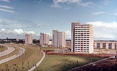 Die Rostocker Südstadt. Rostock, 1966