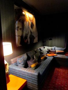 The Home Theater  Dec-a-Porter: Imagination @ Home: Designer Visions: David Rockwell for House Beautiful