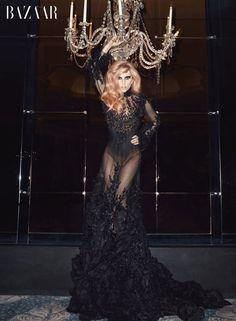 lady_gaga_chandelier_110413_harpers_bazaar