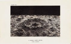 1890 Antique MOON print lunar crater by TwoCatsAntiquePrints, $24.00