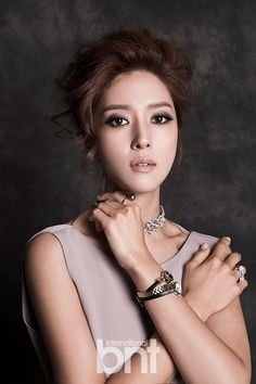 """www.bekanbell.com - [actor/ 왕빛나. bnt pictorial]. Elegant and Feminine timepieces from Germany """"Butterfly on your wrist"""" #watch #germany #bekanbell #celebrity #fashion #pictorial"""