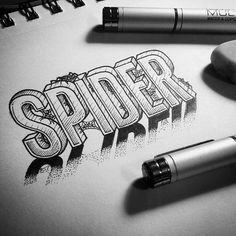 'Spider' - A brilliant 3 Dimensional piece by @jasoncarne!