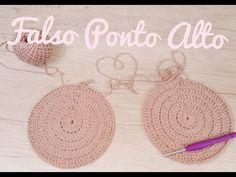 (75) Rudinea Angelini - Crochê&Customização - YouTube Learn To Crochet, Crochet Earrings, Diy, Crafts, Youtube, Crochet Tutorials, Crochet Baskets, Farmhouse Rugs, Table Runners