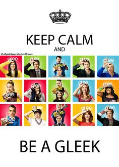 Gleek Out! This is for the gleek of my life taco, love you baby