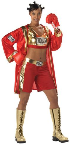28 best boxing halloween costume images on pinterest halloween everlast boxer chick sexy contender adult costume medium diy solutioingenieria Choice Image