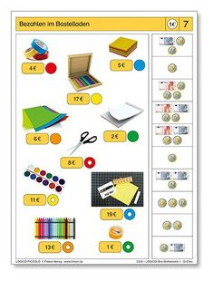 Eurorekenen: Pico Piccolo: Gepast betalen Primary Maths, Primary School, Learning Money, Education World, School Closures, Diy Projects For Kids, Speech Therapy, Special Education, Euro