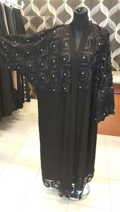 Black embroided Abaya...