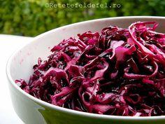 salata de varza rosie la borcan Google Chrome, Cabbage, Desktop, Cooking Recipes, Vegetables, Food, Preserve, Salads, Chef Recipes