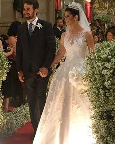 Bárbara Borges e Alexandre Suarez tiveram um casamento clássico em Salvador! As fotos dessa linda festa são de Nelson Neto.