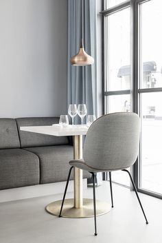 Gubi // Beetle Chair at The Standard, Copenhagen.