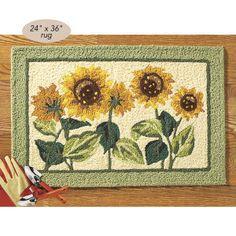 sunflower kitchen decor | sunflower themed kitchen decor | houses