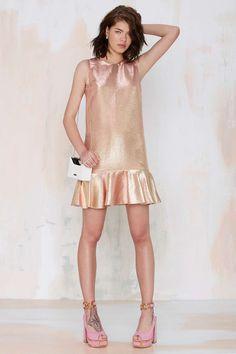 Essentiel Major Space Metallic Dress | Shop Clothes at Nasty Gal!