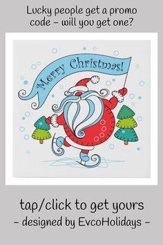 #promo Whimsical Skating Santa Claus | Merry Christmas Faux Canvas Print #christmas #holidays #seasonal #festive #santa #FauxCanvasPrint #affiliatelink #merrychristmassigns #merrychristmas #holidaysigns #christmasdecor Merry Christmas Sign, Christmas Canvas, Christmas Themes, Christmas Holidays, Christmas Decorations, Holiday Signs, School Decorations, 15th Birthday, Corner Designs