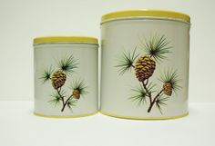 Pinecone Canisters
