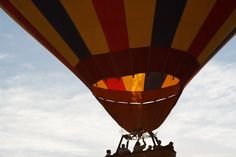 Flight…Fort Apache Road, Las Vegas   The Digeologist by Rich Mbariket http://ish.re/QZC9 #hotairballoon #takeoff #liftoff