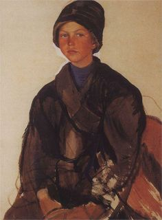 Portrait of a Boy - Zinaida Serebriakova - WikiPaintings.org
