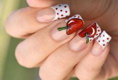 Cherry-Nail-Art-Design <3