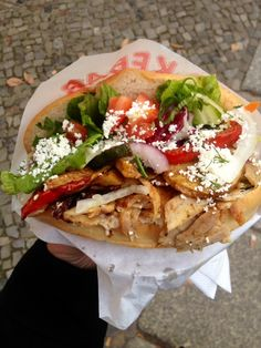 one of the best veggie Döner places …'K'ups Gemüse Kebap' in Berlin